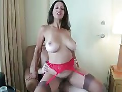 mom in lingerie : ass fucked