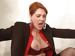 mom in lingerie : ass fucked