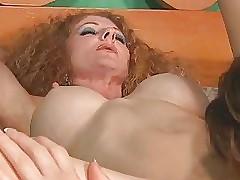 moms high heels : blowjob facial