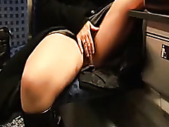 mom flashing in public : hot milf fucked hard