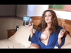 smoking mom : mature women pussy